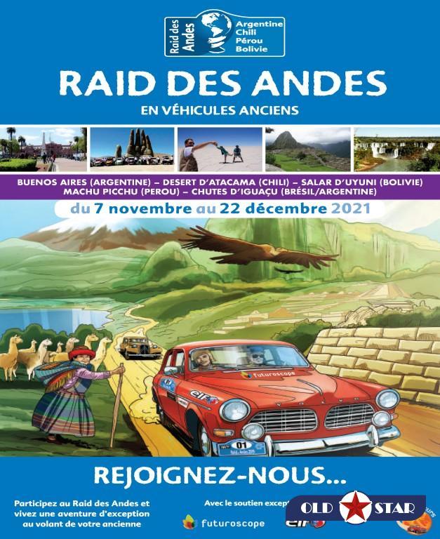 Raid des Andes 2021 : Les inscriptions sont ouvertes
