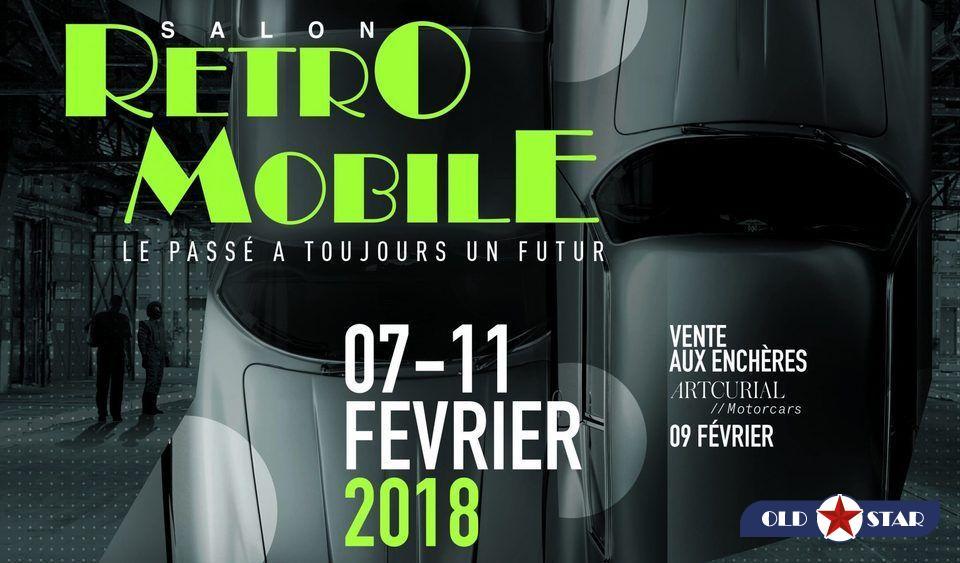 Salon Rétro-Mobile 2018 : OLD STAR à PARIS