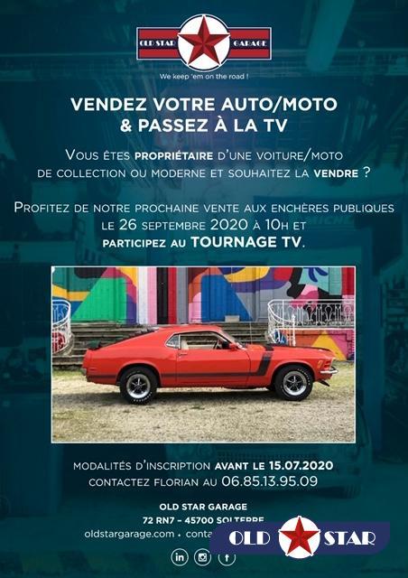 Salon Rétro-Mobile 2020 : OLD STAR à PARIS
