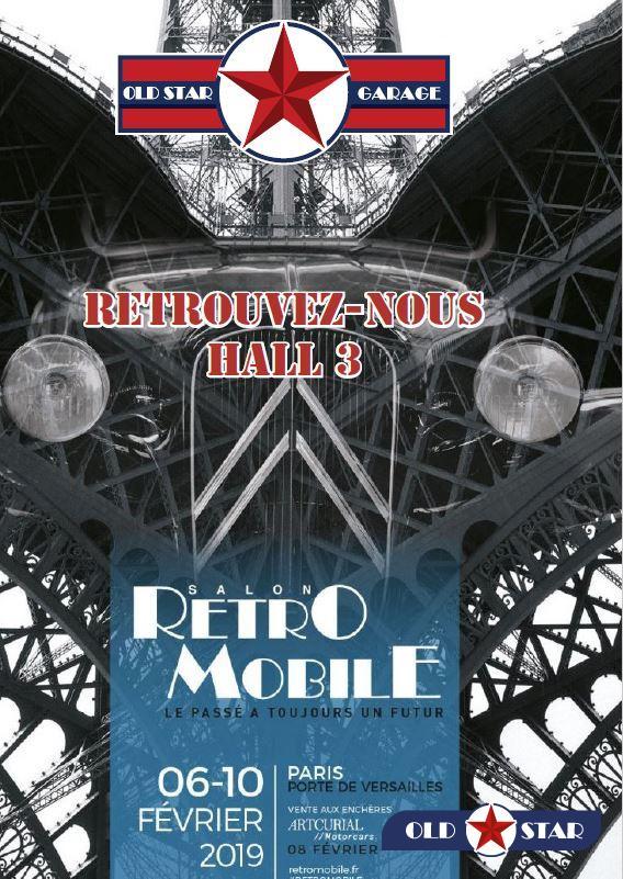 Salon Retro-Mobile 2019 : OLD STAR à PARIS